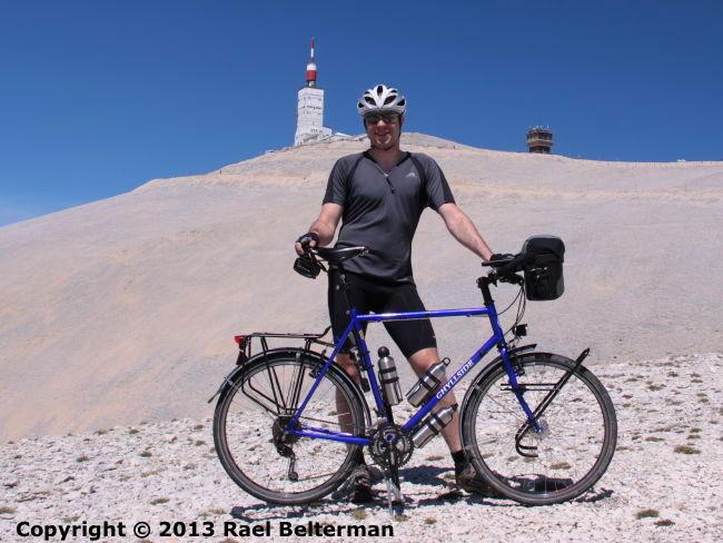 Rael Belterman Ghyllside at Mont Ventoux