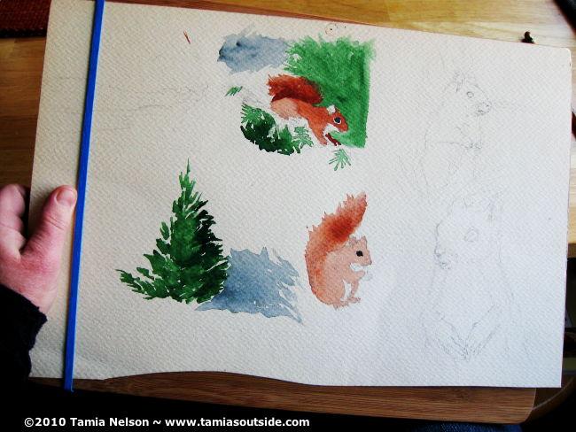 Watercolor Board