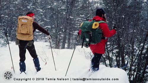 Cross-Country Skiing Trip - (c) Tamia Nelson - Verloren Hoop - Tamiasoutside.com