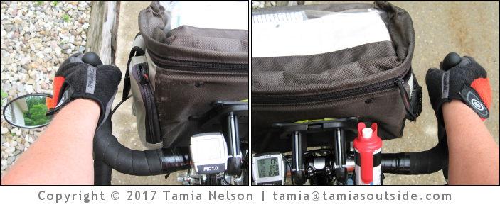 Nitto Noodle Handlebars versus Stock Handlebars (c) Tamia Nelson - Verloren Hoop