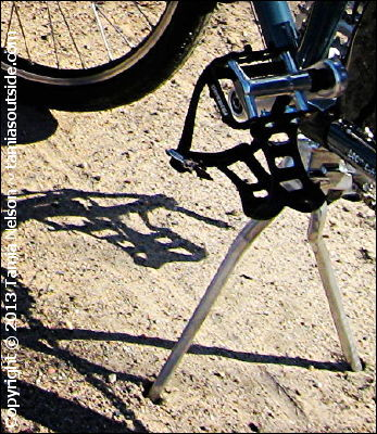 Two-Legged Kickstand Design