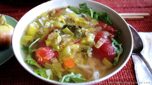 Have a Bowl of Hot Soup - (c) Tamia Nelson - Verloren Hoop - Tamiasoutside.com